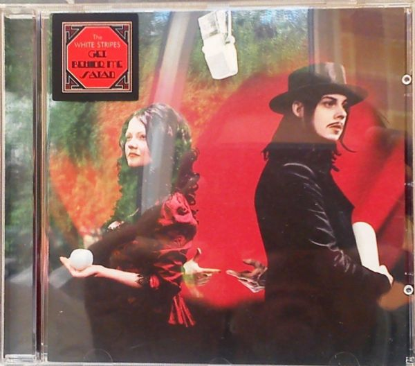 The White Stripes - Get Behind Me Satan (CD 2005) USED